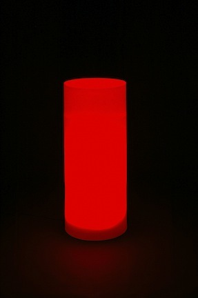 "Lighted Cylinder / Furniture (21"" Diameter x 54"" Tall - No Bulb) from Pool Shot"