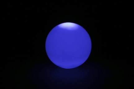 "Lighted Poly Ball / Furniture (16"" x 16"" x 16"" - No Bulb) from Pool Shot"