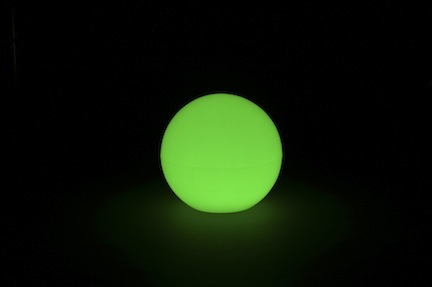 "Lighted Poly Ball / Furniture (24"" x 24"" x 24"" - No Bulb) from Pool Shot"