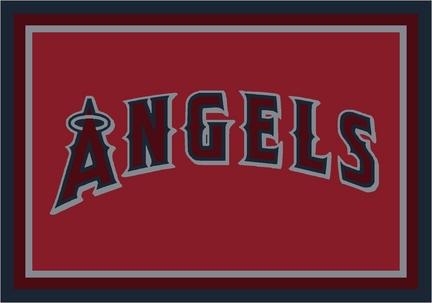 "Los Angeles Angels of Anaheim 3'10"" x 5'4"" Team Spirit Area Rug"