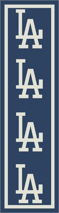"Los Angeles Dodgers 2' 1"" x 7' 8"" Team Repeat Area Rug Runner"