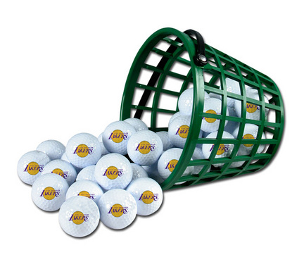 Los Angeles Lakers Golf Ball Bucket (36 Balls)