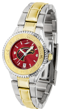 Louisiana (Monroe) Warhawks Competitor AnoChrome Ladies Watch with Two-Tone Band