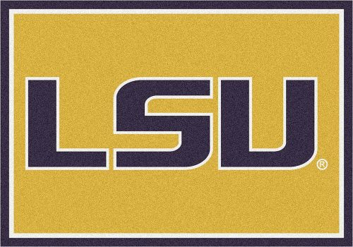 "Louisiana State (LSU) Tigers 3'10""x 5'4"" Team Spirit Area Rug"