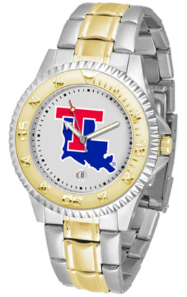 Louisiana Tech Bulldogs Competitor Two Tone Watch