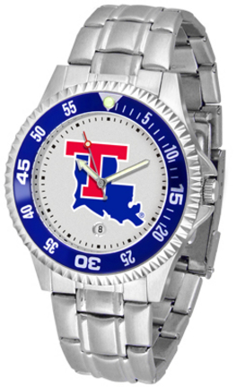 Louisiana Tech Bulldogs Competitor Watch with a Metal Band