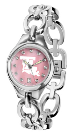 Louisiana Tech Bulldogs Eclipse Ladies Watch with Mother of Pearl Dial