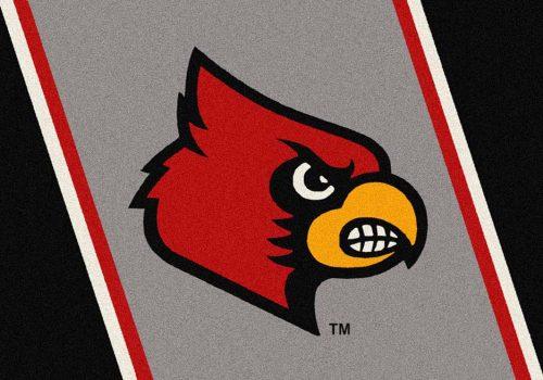 "Louisville Cardinals ""Mascot"" 3'10""x 5'4"" Team Spirit Area Rug"