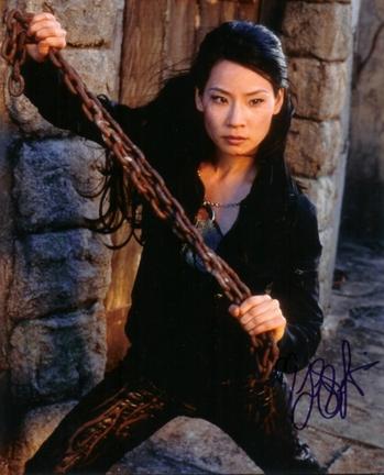 "Lucy Liu Autographed 8"" x 10"" Photograph (Unframed)"