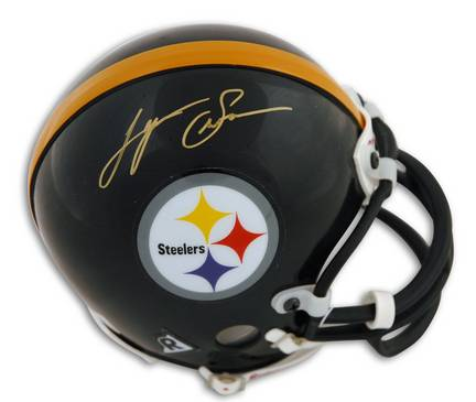 Lynn Swann Autographed Pittsburgh Steelers Mini Football Helmet