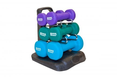 MAHA FITNESS MF-PV20 Dumbbell Set with Stand
