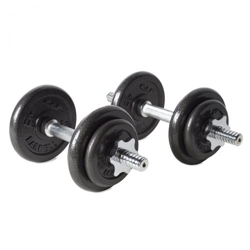 MAHA FITNESS MF-PV40 Dumbell Set with Case 40 lbs