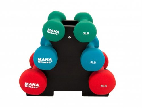 MAHA MF-PV32 Dumbell Set With Stand - 32