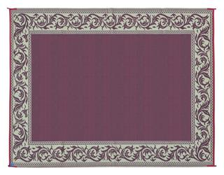 MINGS MARK RA5 Classical Mat 9x12 Burgundy Beige