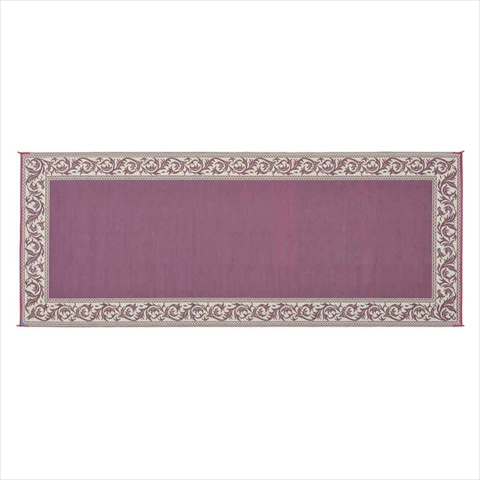 MINGS MARK RC5 Classical Mat 8x20 Burgundy Beige