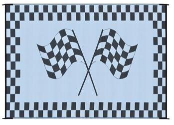 MINGS MARK RF6091 Racing Mat 6x9 Black White
