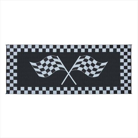 MINGS MARK RF8201 Racing Mat 8x20 Black White