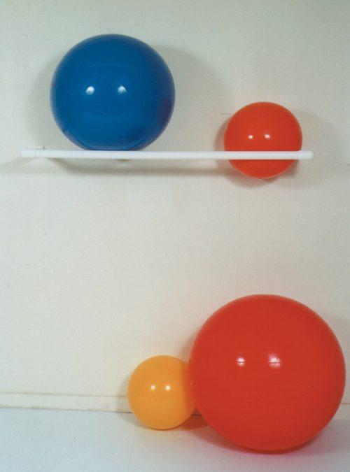 MJM International 7005 58L x 17W x 3H Wall Mount Rack 2 Ball