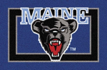 "Maine Black Bears 3'10""x 5'4"" Team Spirit Area Rug"