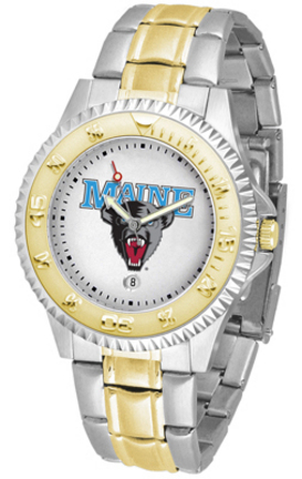 Maine Black Bears Competitor Two Tone Watch