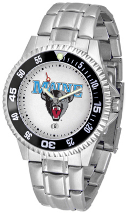 Maine Black Bears Competitor Watch with a Metal Band