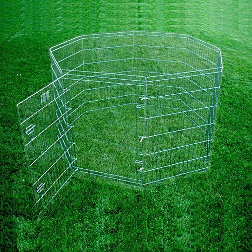 Majestic Pet 788995022428 42 in. Large Exercise Kennel Pen