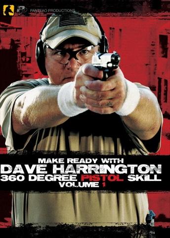 Make Ready PMR001 Make Ready With Dave Harrington - 360 Degree Pistol Skill Vol 1 - Instructional DVD
