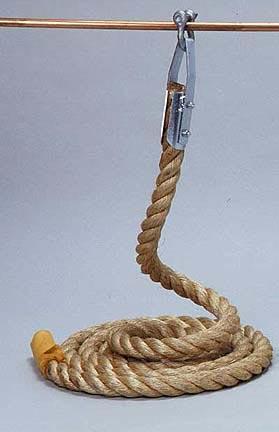 "Manila Climbing Rope - 18 Feet Long (1 1/2"" Diameter)"