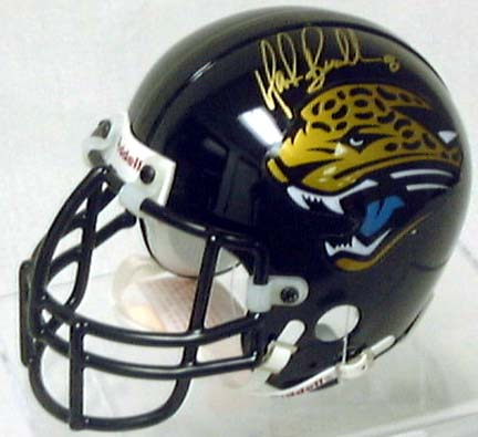 Mark Brunell, Jacksonville Jaguars Autographed Riddell Authentic Mini Football Helmet