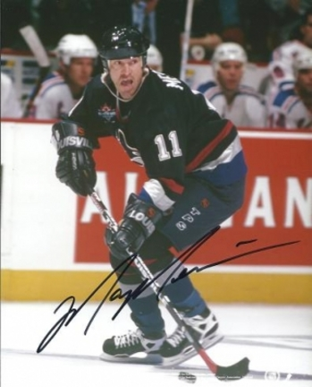 "Mark Messier ""Action"" Autographed Vancouver Canucks 8"" x 10"" Photograph (Unframed)"