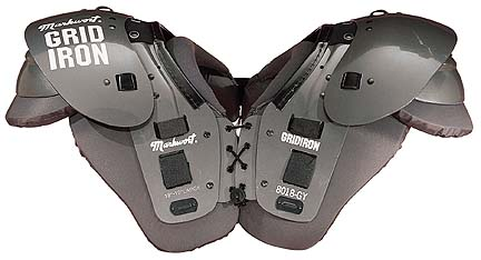 Markwort Grid Iron Series Adult Football Shoulder Pads - (Large)