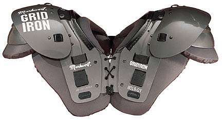Markwort Grid Iron Series Adult Football Shoulder Pads - (Medium)