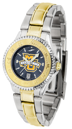 Marquette Golden Eagles Competitor AnoChrome Ladies Watch with Two-Tone Band