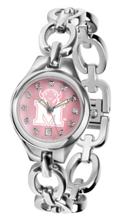 Marshall Thundering Herd Eclipse Ladies Watch with Mother of Pearl Dial
