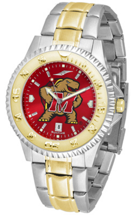 Maryland Terrapins Competitor AnoChrome Two Tone Watch