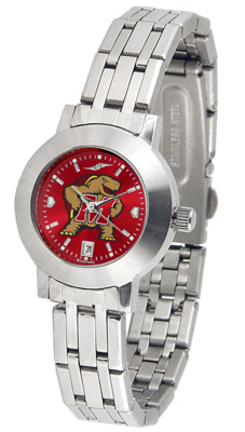 Maryland Terrapins Dynasty AnoChrome Ladies Watch