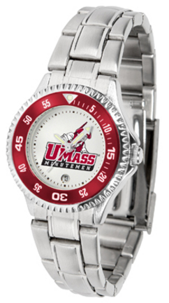 Massachusetts Minutemen Competitor Ladies Watch with Steel Band