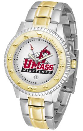 Massachusetts Minutemen Competitor Two Tone Watch