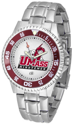 Massachusetts Minutemen Competitor Watch with a Metal Band