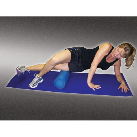 Maverick Sports Medicine PTA205 6 x 18 in. High Density Foam Roller Blue