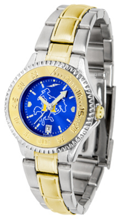 McNeese State Cowboys Competitor AnoChrome Ladies Watch with Two-Tone Band