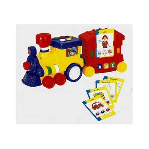Megcos 1213 Plastic Interactive Musical Quizzer Train