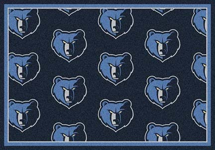 "Memphis Grizzlies 2' 1"" x 7' 8"" Team Repeat Area Rug Runner"