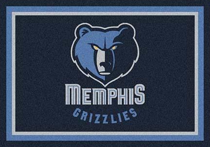 "Memphis Grizzlies 3' 10"" x 5' 4"" Team Spirit Area Rug"