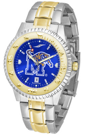 Memphis Tigers Competitor AnoChrome Two Tone Watch