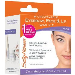 Merchandise 0617709 Sally Hansen Eyebrow Face & Lip Wax 1 Count
