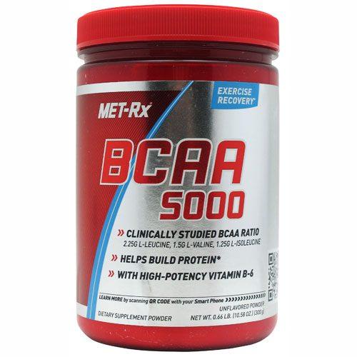 Met-Rx BCAA 5000 Unflavored 300 g - METXBCAA50000300PW