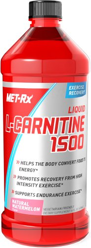 Met-Rx Liquid L-Carnitine 1500 Watermelon 16 oz - METXLIQU0016WATELQ