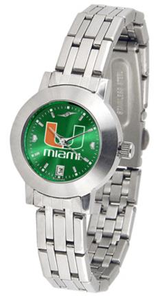 Miami Hurricanes Dynasty AnoChrome Ladies Watch