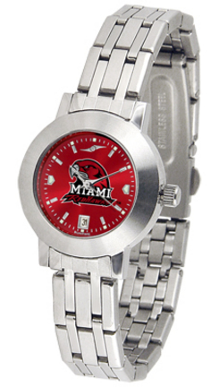 Miami (Ohio) RedHawks Dynasty AnoChrome Ladies Watch
